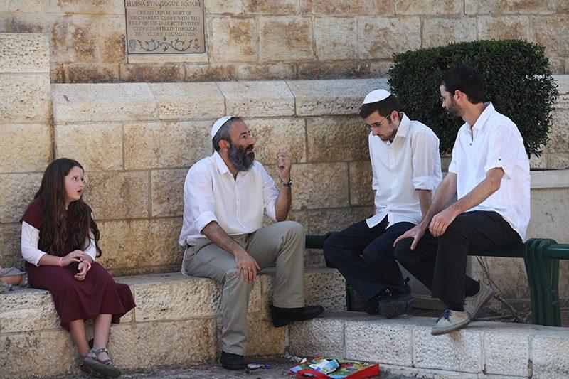 Miluji sledovat život v ulicích starého Jeruzaléma