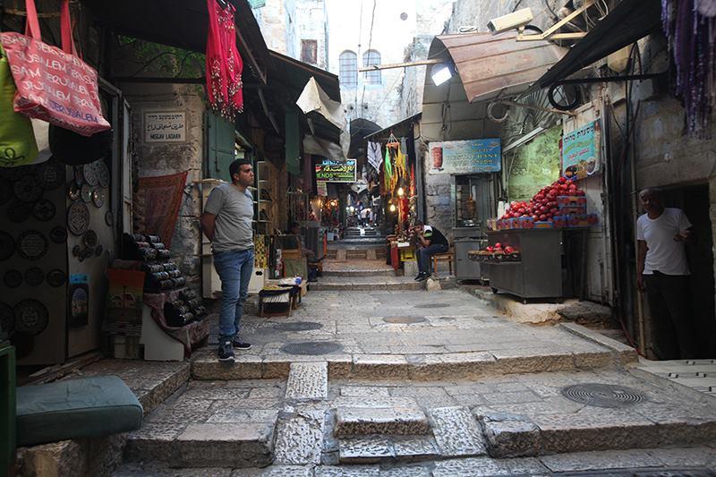O Šabatu byl v ulicích Jeruzaléma klid