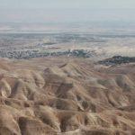 Poušť nedaleko Jericha