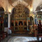 Pravoslavný chrám nedaleko řeky Jordán, kde měl být Janem Křtitelem pokřtěný Ježíš