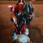 Socha P. Marie v getsemanské bazilice