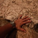 Kámen za oltářem v bazilice, kde měl P. Ježíš potit krev