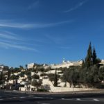 Pohled na staré město Jeruzaléma