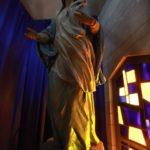 Spěchající P. Maria v bazilice Zvěstování v Nazaretě.