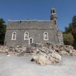 Kostelík u galilejského jezera