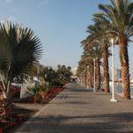 Přímořská promenáda města Eilat.