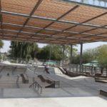 Vedle muzea je krásný skate park.