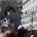 Pouličnímu festivalu umění dominovali umělci z Ruska.