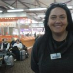 A toto je rodačka ze Slovenska Denisa Kováčíková - dobrá duše a pracovnice Ministerstva turismu Izraele.