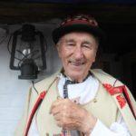 Pan rídící František Okénka u kuželovského mlýna v červenci roku 2010. Foto: Lenka Fojtíková