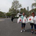 Na Staten Island jsme absolvovali náš první americký shoping.