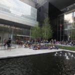 Atrium Muzea moderního umění v New Yorku.