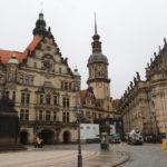 Zámecká náměstí v Drážďanech