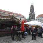 V pondělí byl na adventních trzích v Drážďanech docela klid
