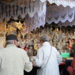 Stánky nabízely nejrůznější vánoční zboží všeho druhu