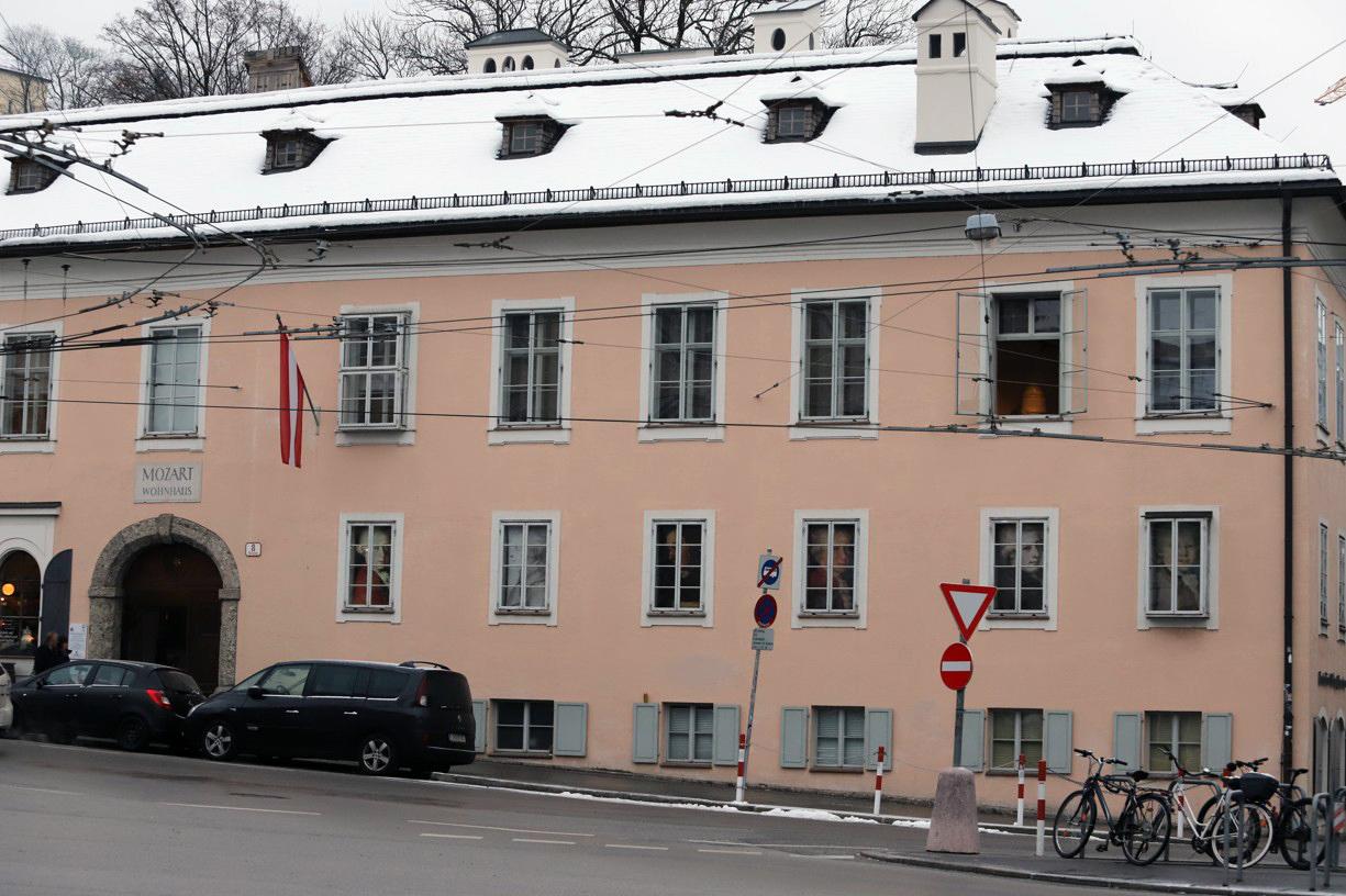Dům, ve kterém žil Mozart