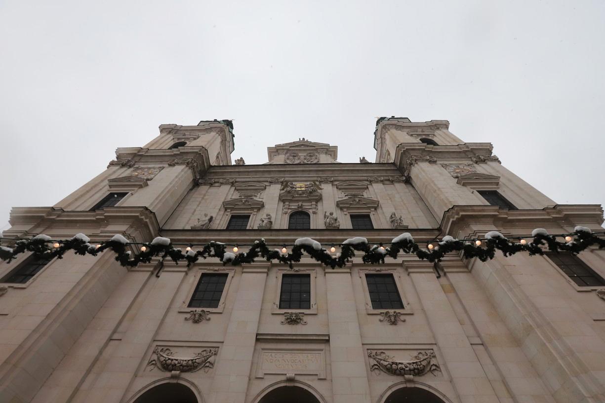 Nemohla jsem si nechat ujít návštěvu katedrály sv. Ruperta a Virgila