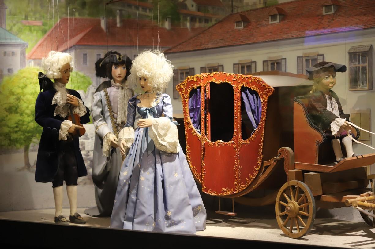 Krásná výstava marionet