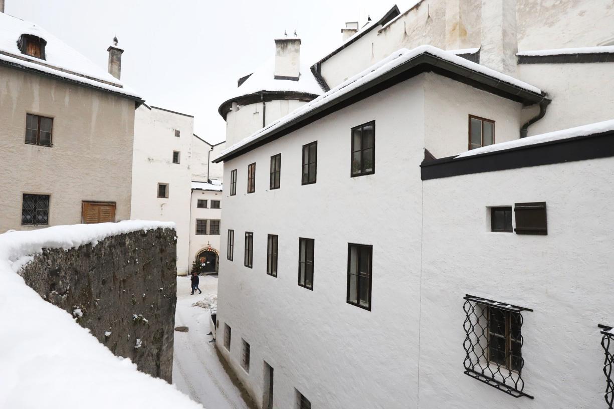 Uvnitř pevnosti byly uličky
