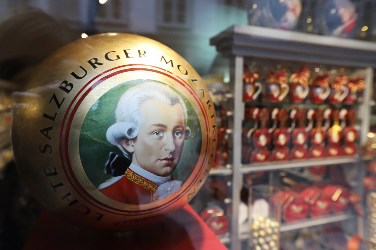 Mozartovy koule, jak je známe dnes z průmyslové výroby