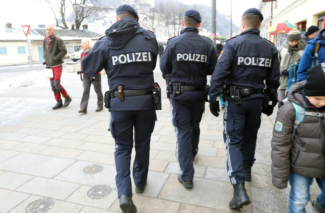 I v Salzburgu na bezpečnost dohlíželi policisté