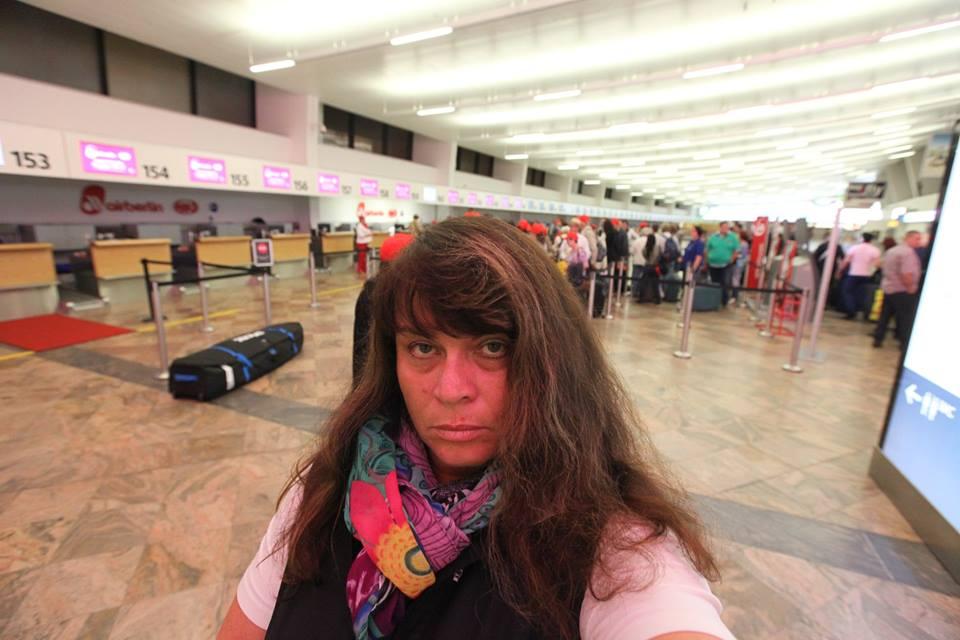 Letiště Schwechat - mé putování začíná