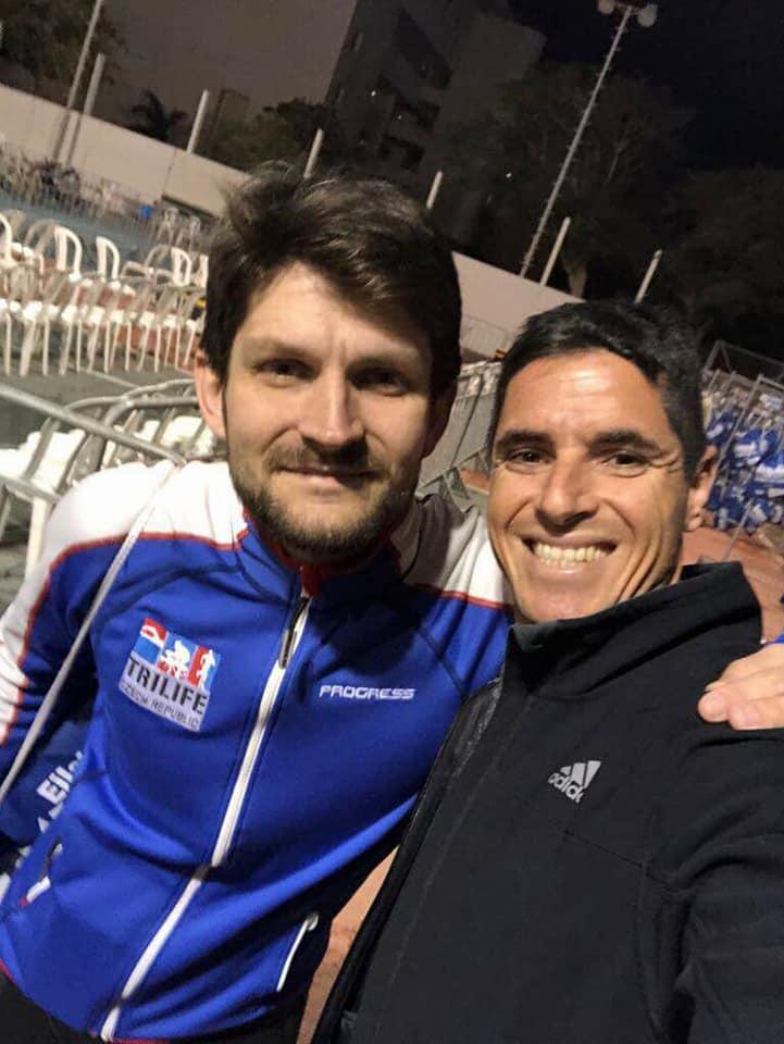 Martin Černý si váží všech přátel, které díky sportu poznal. Foto: Pavel Černý