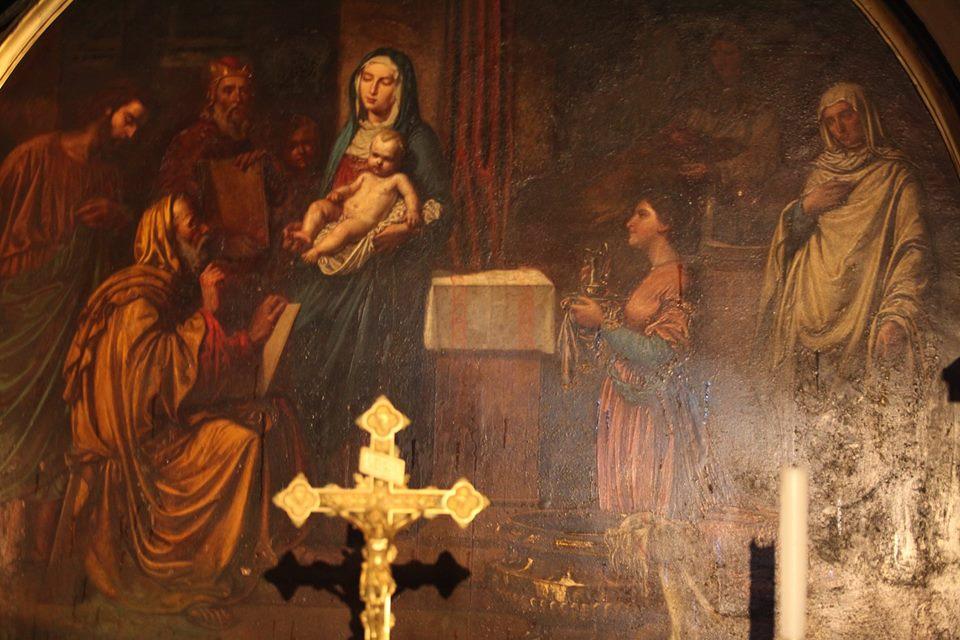 Ve františkánském kostele sv. Jana Křtitele