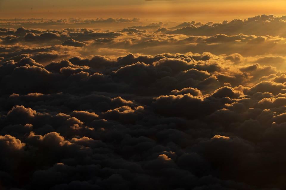 Kousek od Izraele - ještě nad mraky