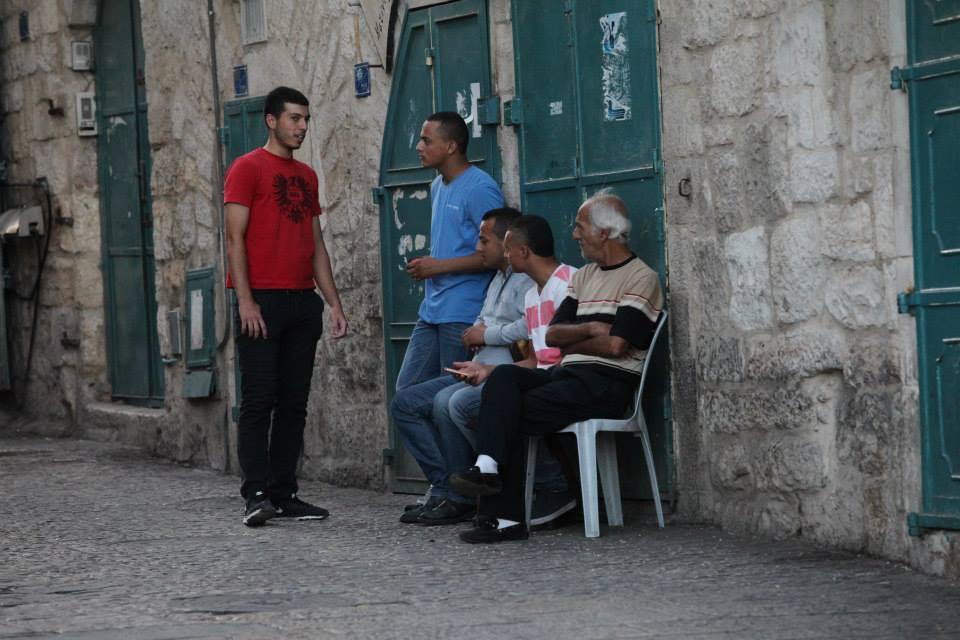 Život v ulicích Betléma...