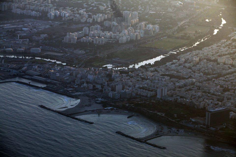 Tel Aviv - jdeme na přistání
