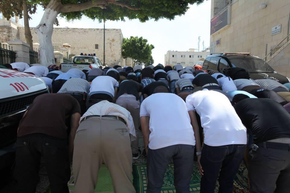 Páteční modlitba muslimů