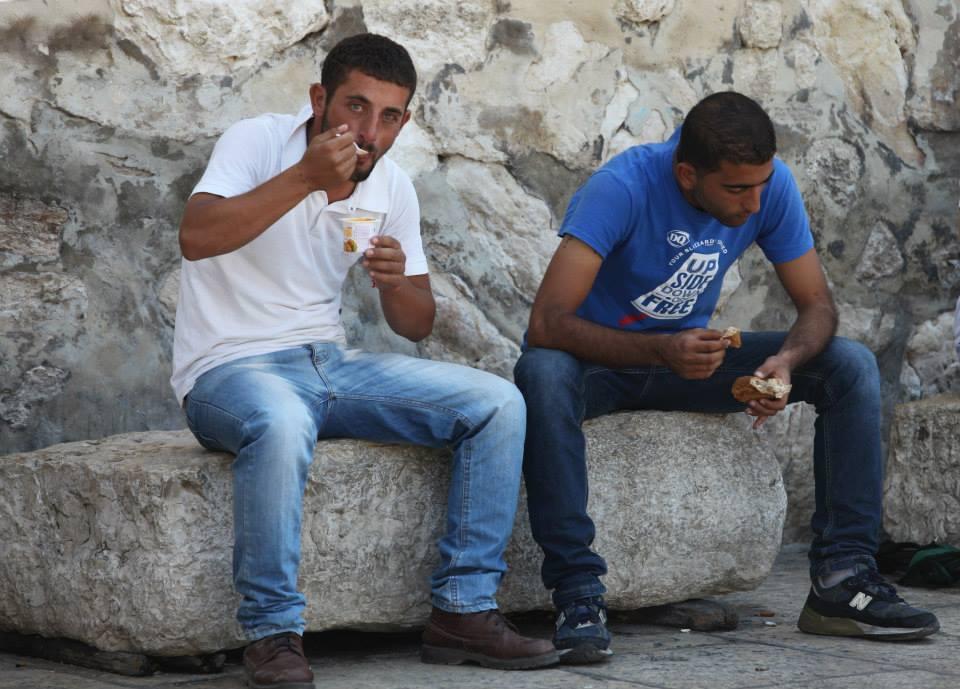 Život v ulicích Betléma