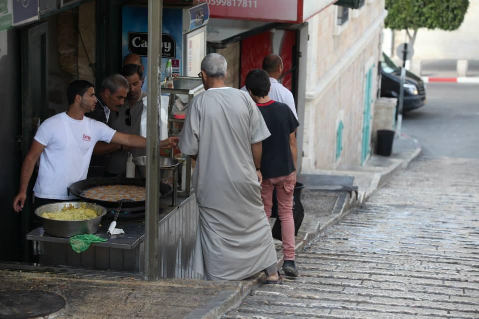 Život v ulicích Bethlehema