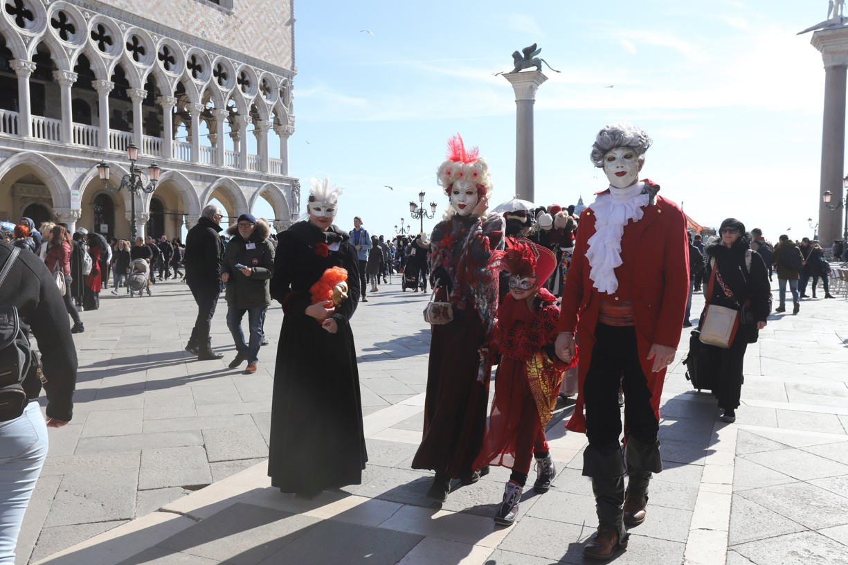Masky na náměstí svatého Marka