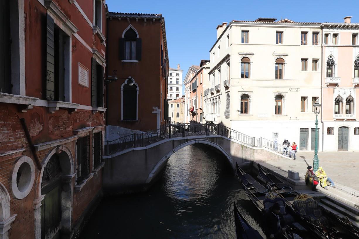 V Benátkách je spousta krásných zákoutí
