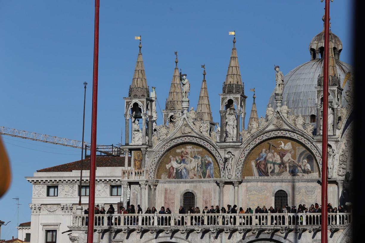 Bazilika svatého Marka byla postavena v letech 828-832