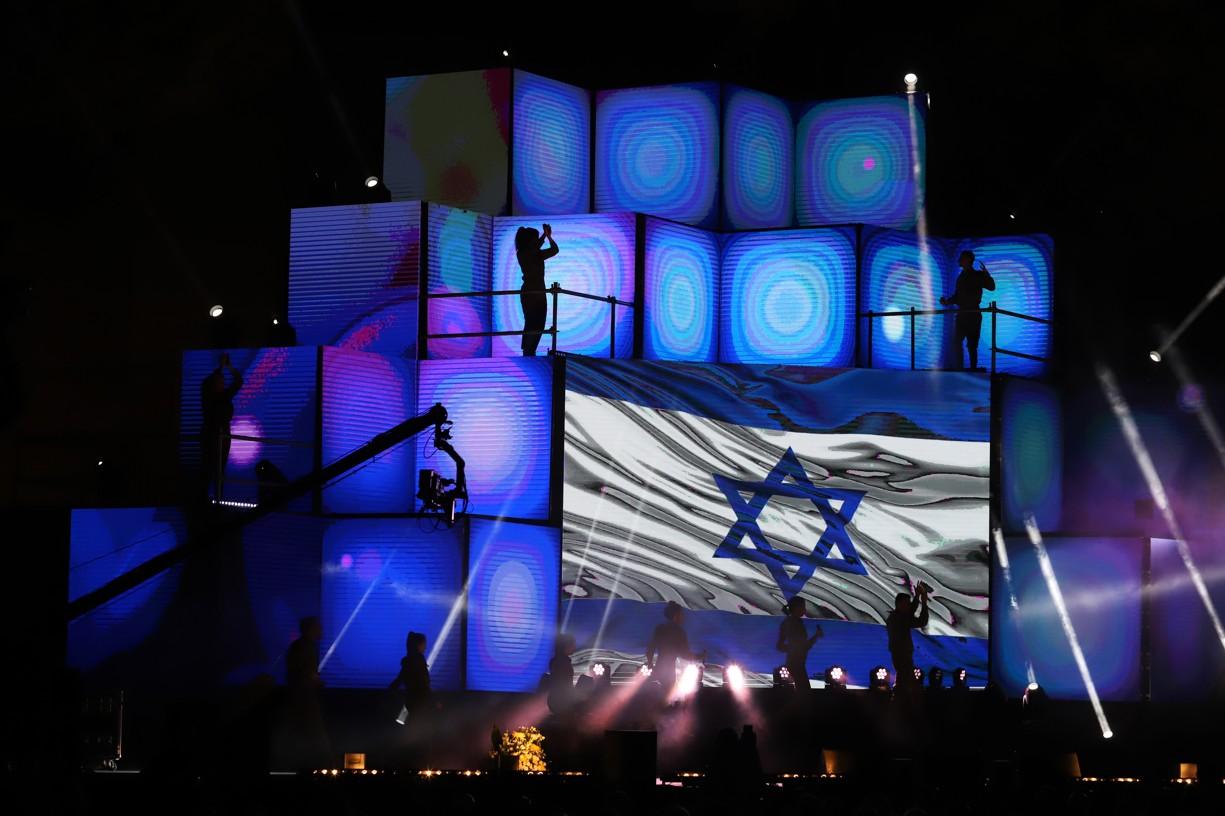 Vyvrcholení oslav 70 let Eilatu