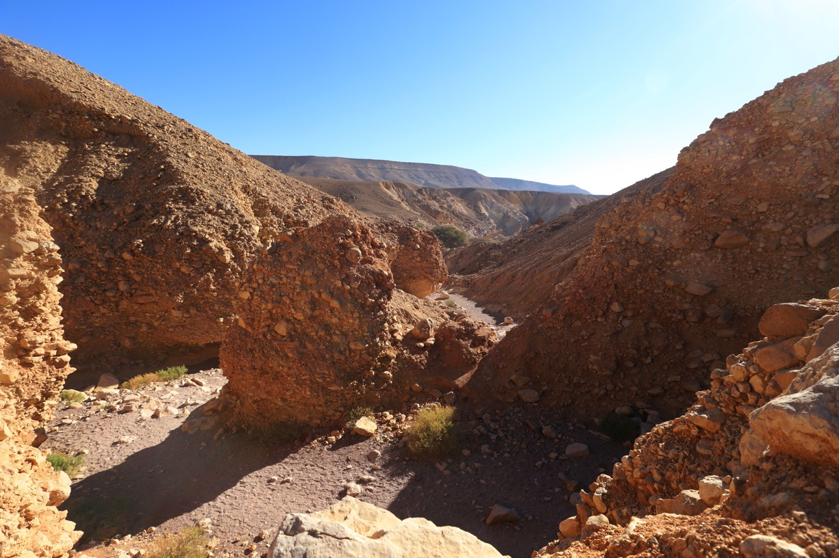 Cesta k Red Canyonu nabízela krásné pohledy
