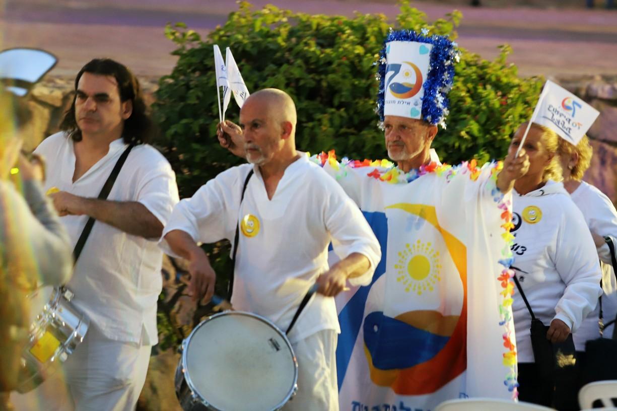 Slavnostní zahájení programu oslav Eilatu
