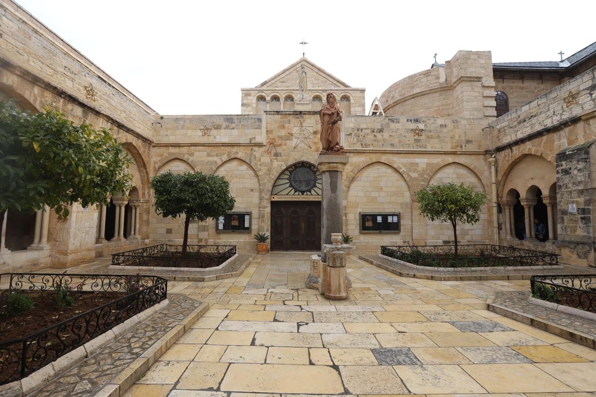Atrium baziliky Božího narození