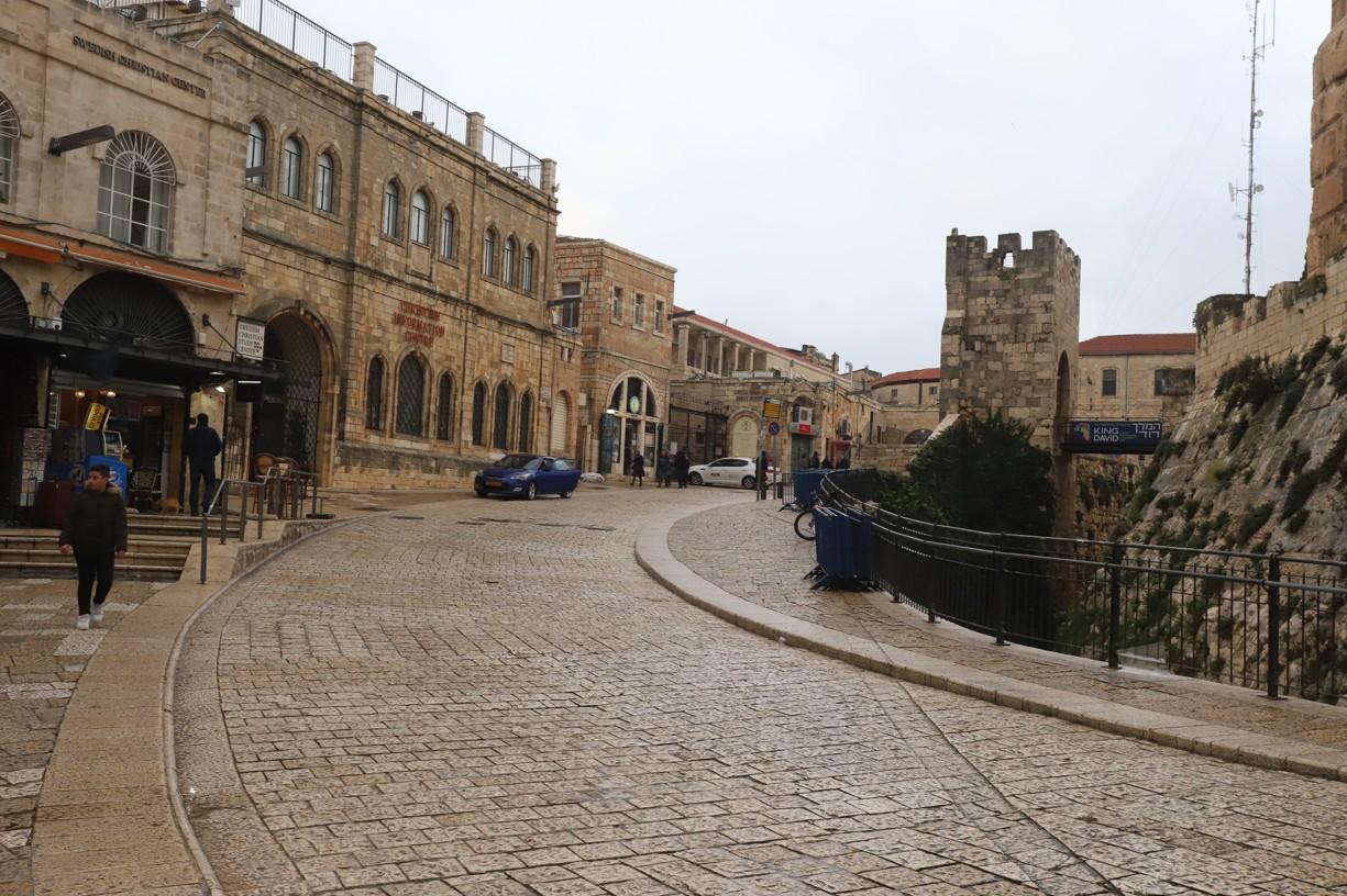 A opět v ulicích starého Jeruzaléma