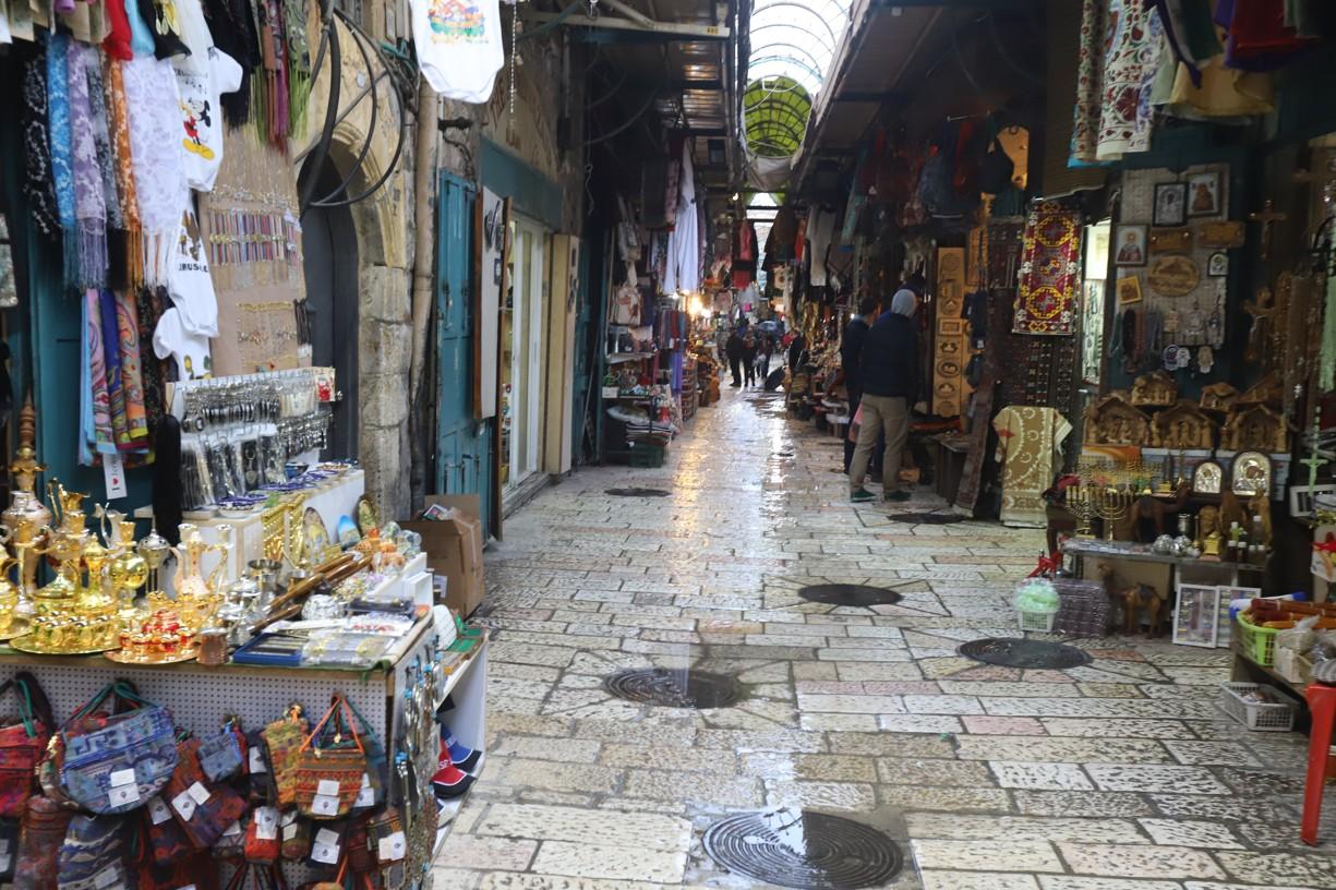 Ve starém městě Jeruzaléma
