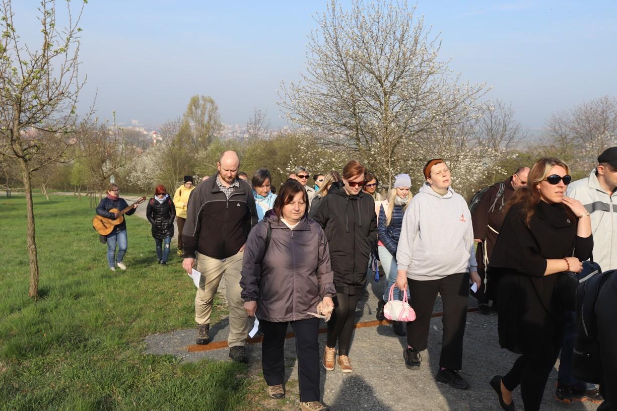 Křížová cesta Charity Uherské Hradiště