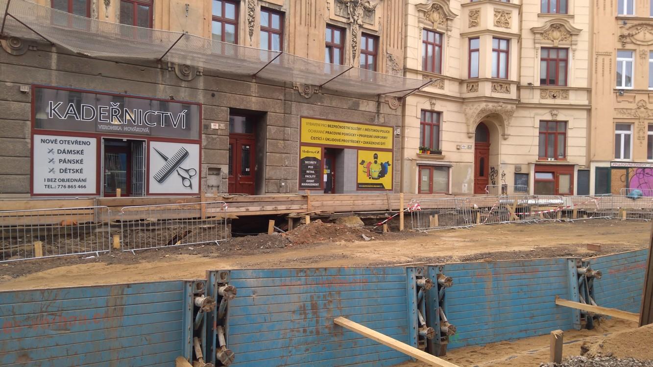 Brno v těchto místech vypadá jak po válce...