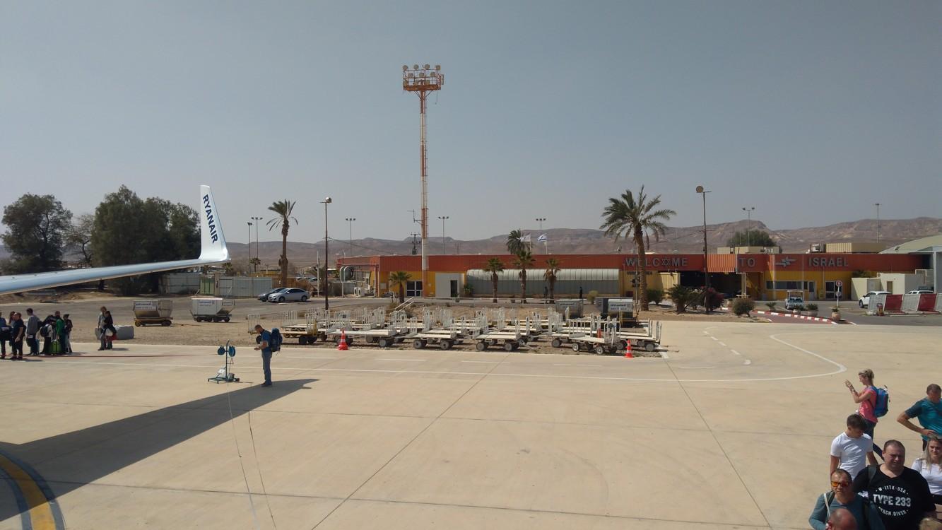 Z letiště Ovda jsme odlétali naposledy, protože od dubna funguje nové letiště Ramon
