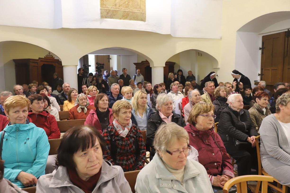 Vystoupení Štramberáků zcela zapnilo kapli na Svatém Antonínku