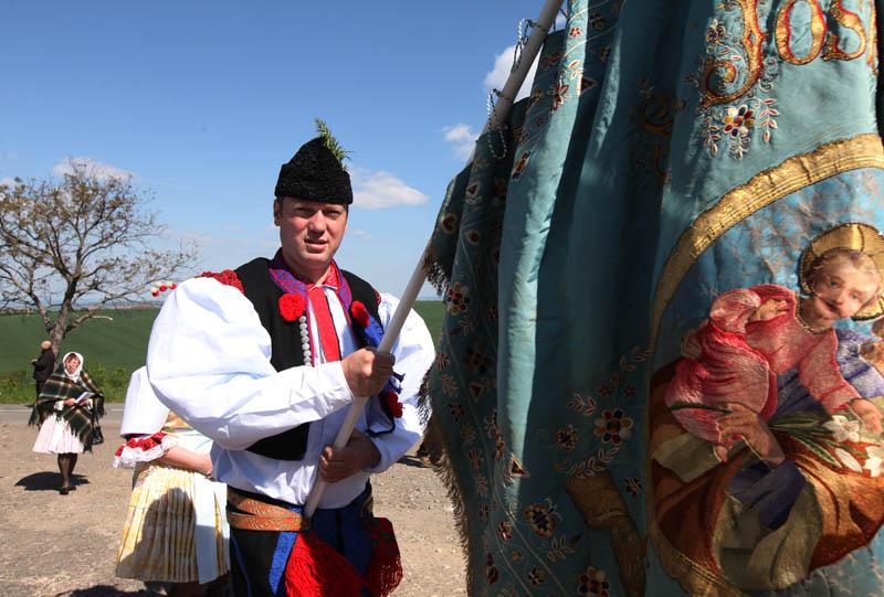 Historicky první Pouť králů na Svatém Antonínku 4. 5. 2014