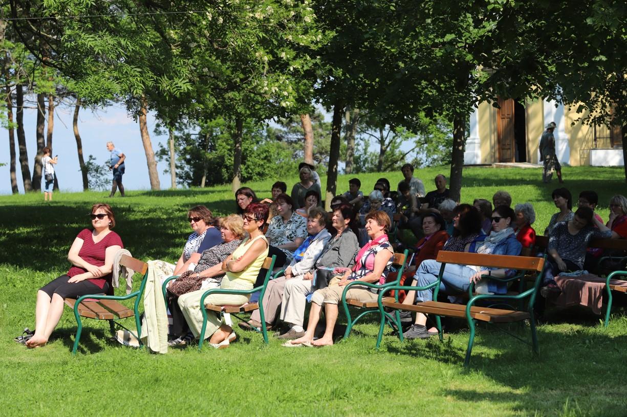 Na Antonínku se při františkánské odpoledni sešlo více než sto účastníků.