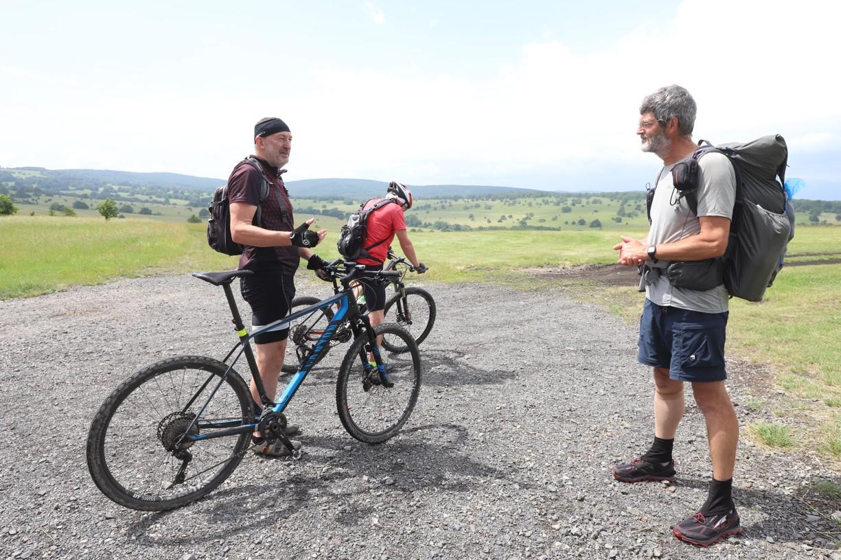 Nečekané setkání s cyklisty